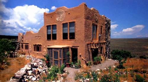 Sunset dwellings llc for Modern adobe homes